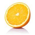 Half Orange Royalty Free Stock Photo