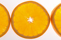 Half of orange Royalty Free Stock Photo