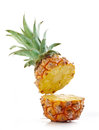Half pineapple Royalty Free Stock Photo