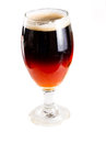 Half red ale half stout Royalty Free Stock Images