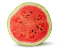 Half of red juicy watermelon Royalty Free Stock Photo