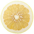 Half of ripe pomelo Royalty Free Stock Image