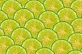 Half slice bergamot fruit for backgroud abstract Royalty Free Stock Photo