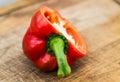 Half sweet pepper