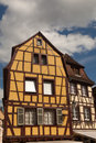 Half-timbered Haus in Colmar Lizenzfreie Stockfotos