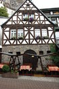Half-timbered house Royalty Free Stock Image