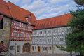 Half timbered house in bavaria germany Stock Photo