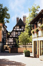 Half-timbered house, Strasbourg, Alsace, France. Stock Photo
