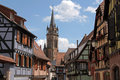 Half-timbered houses Royalty Free Stock Photo
