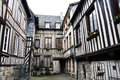Half-timbered houses Stock Photography