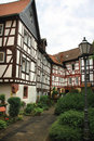 Half Timbered Houses Royalty Free Stock Photo