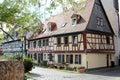 Half-timbered houses in Frankfurt am Main Royalty Free Stock Photo