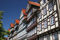 Half timbered houses in Hann Münden Royalty Free Stock Photo