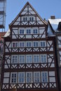 Half-timbered houses in Hann M�nden Royalty Free Stock Photo