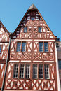 Half-Timbered Houses in Trier Stock Photo