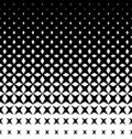Halftone abstract background with rhombuses. Seamless vector pattern. EPS 10