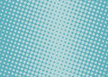 Halftone background. Comic dotted pattern. Colorful Vector illustration