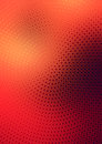 Halftone background design red modern with effect Stock Photo