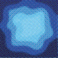 Halftone blue background Royalty Free Stock Photos