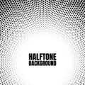 Halftone circle gradient background Modern look for business or comic texture