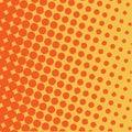 Halftone circles background, halftone dot pattern.