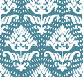 Halftone colorful seamless retro pattern blue dot line curve Royalty Free Stock Photo