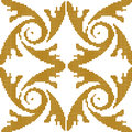 Halftone colorful seamless retro pattern gold feather spiral
