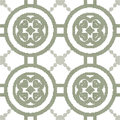 Halftone colorful seamless retro pattern round cross heart frame Royalty Free Stock Photo