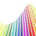 Halftone colorful vector Royalty Free Stock Photo