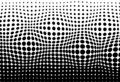 Halftone, convex moving pattern texture pointillism abstract bac