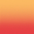 Halftone dot background design Royalty Free Stock Photo