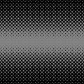 Halftone dot pattern background - vector design from circles in varying sizes Royalty Free Stock Photo