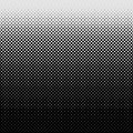 Halftone dot pattern background - vector graphic design from circles in varying sizes Royalty Free Stock Photo