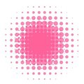 HAlftone dots Stock Photography