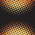 Halftone dots retro vector Royalty Free Stock Photos