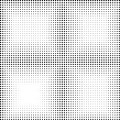 Halftone dotted background. Halftone effect vector pattern. Circ