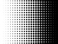 Halftone pattern vector dot gradient background