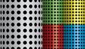 Halftone patterns. Royalty Free Stock Photo