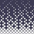 Halftone purple diamond geometric gradient pattern