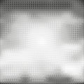Halftone seamless vector background. Abstract halftone effect with black dots on white background
