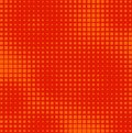 Halftone squares Royalty Free Stock Images
