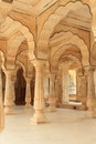 Hall of Ambar.jaipure. Stock Image