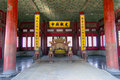 Hall of Central Harmony in forbidden city Stock Image