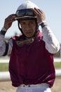 Hall of Fame Jockey Edgar Prado Royalty Free Stock Photography