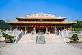 Hall of great achievements in confucian temple confucius is the greatest educator chinese history chinese people built mamy to Royalty Free Stock Photography
