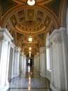 Hall. Library of Congress national library of the United States Royalty Free Stock Photo