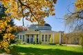 Hall of mineral water spring Glauber - Frantiskovy Lazne Royalty Free Stock Photo