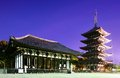 Hall pagoda kofuku ji temple famed temple nara japan dating november Stock Photos