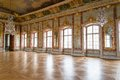 Hall in a palace ball Royalty Free Stock Photography