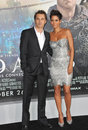 Halle berry olivier martinez los angeles premiere her new movie cloud atlas grauman s chinese theatre hollywood october los Royalty Free Stock Photo